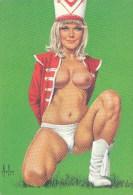 ASLAN: Margot [ Pinup Nu Majorette Cheer Leader ] AG092 - Autres Illustrateurs