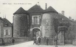 Ervy - Porte St-Nicolas - Ervy-le-Chatel