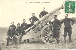 "MILITARIA - Canon De 155 Court ""Le Rimailho"" - Equipment"