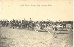 MILITARIA - Camp De Chalons - Batteries à Cheval - Batterie En Colonne - Equipment