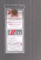 ECU De BERGERAC . 20 000 Exemplaires Avec Plaquette Et écrin . - Euros Of The Cities