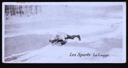 LA LUGE EN 1900 - Postcards