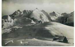 CPSM  64  Col D'Aubisque L'Hotellerie Et Les Champs De Ski - France