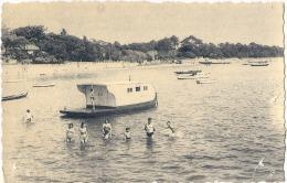 ANDERNOS LES BAINS La Côte à Marée Basse  - Bateau Pinasse Plongeoir  Peu Courante  - Neuve TBE - Andernos-les-Bains