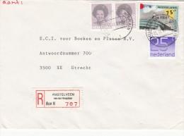 Envelop Aangetekend 11 Sep 1987 Amstelveen Van Der Hooplaan (typerader CB) - Postal History