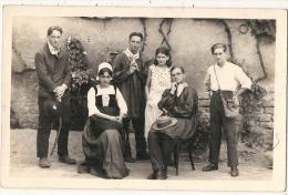 Photo Carte Groupe Folklorique ?? , Spectacle, Thatre ?? - Fotografia