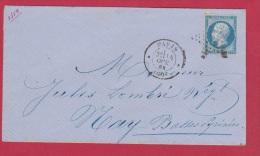 ENV DE PARIS   //  POUR MAY   //  14 OCT 1858 - Marcophilie (Lettres)