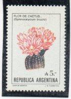 Sello Nº 1559 Argentina - Cactus