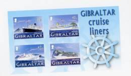 Gibraltar-2005-Bateaux De Croisère-YT B67***MNH - Ships