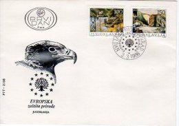 YUGOSLAVIA 1986 Nature Protection FDC.  Michel 2148-49 - FDC