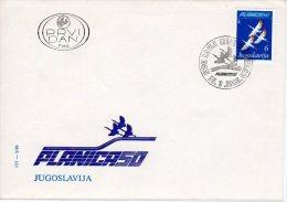 YUGOSLAVIA 1985 Planica Ski-jumps Anniversary  FDC.  Michel 2097 - FDC