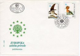 YUGOSLAVIA 1985 Nature Protection FDC.  Michel 2100-01 - FDC