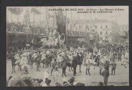 DF / 06 ALPES MARITIMES / NICE / CARNAVAL DE 1913 / LE CORSO / LES HÉRAUTS D' ARME PRÉCÉDANT S.M. CARNAVAL - Carnevale