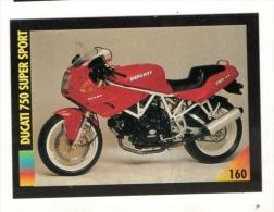 FIGURINA TRADING CARDS: LA MIA MOTO /MY MOTORBIKE - MASTERS EDIZIONI (1993) - DUCATI 750 SUPER SPORT - Motori