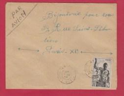 A.E.F  //  ENV POUR PARIS - Covers & Documents