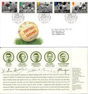 FDC VK / UK - Football Legends - 1996 - Unclassified