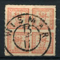 18018) MECKLENBURG-SCHWERIN # 5 Gestempelt Aus 1864, 75.- € - Mecklenburg-Schwerin