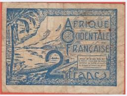 A O F - Afrique Occidentale Française - 2 Francs De 1944 - Pick 35 - Otros – Africa