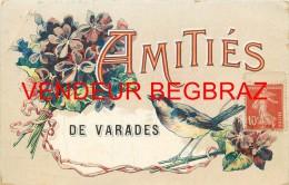 VARADES       CARTE FANTAISIE   AMITIES DE - Varades
