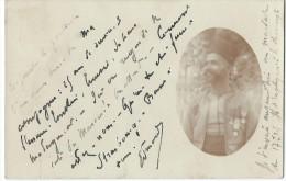 Cartes Postale Photographie/Portrait d�un TURCO d�cor� / Alger/ Hayingen-Lothringen/Hayan ge-Lorraine/1903     PH182