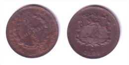 British North Borneo 1/2  Cent 1891 H - Malasia