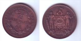 British North Borneo 1  Cent 1889 H - Malasia