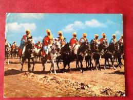Nigeria. Bornu Horsemen Cavaliers Ruiters  -> Belgique België Belgium - Nigeria