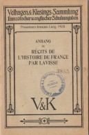 ANNEX TO STORIES OF THE HISTORY OF FRANCE BY LAVISSE, GERMANY - Libri, Riviste, Fumetti