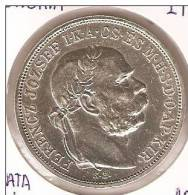 MONEDA  DE PLATA DE HUNGRIA DE 5 KORONA  DEL AÑO 1908  (COIN) SILVER - ARGENT. - Hongrie