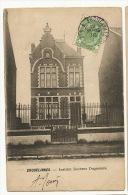 Erquelinnes Institut Docteur Dogneaux Timbrée 1910 Edit I.A. Dos Non Divisé - Erquelinnes