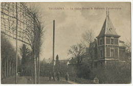 Tirlemont Thienen  La Ghete Devant La Raffinerie Tirlemontoise Sans Editeur - Tienen