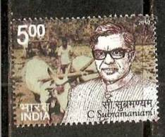 India 2010 C Subramanian Famous People Agriculture 1v MNH Inde Indien - Agriculture