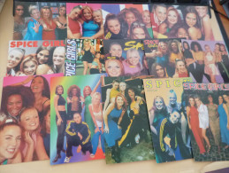LOT DE 14 CARTES  ..SPICE GIRLS.. - Cartes Postales