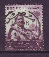 Egitto, 1954 - 2m Farmer - Nr.369 Usato° - Usati