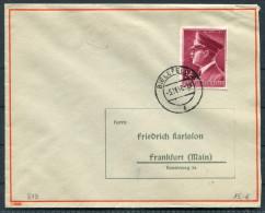 1942 D.Reich  Bielefeld Deutsche Fuhrer Brief - Briefe U. Dokumente