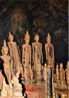 Buddha Statues In A Cave, Luang Prabang, Laos Postcard - Laos