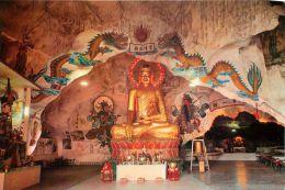Lord Sakyamuni Buddha Statue, Perak Cave Temple, Malaysia Postcard - Malaysia
