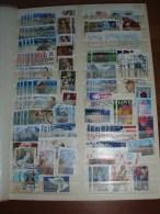 Stockboek Vol Met Postzegels Wereldwijd - Timbres