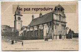 - 138 - BORDEAUX - L'Eglise Saint-Bruno, Petite Animation, Peu Courante, Non écrite, Splendide, TBE, Scans. - Bordeaux