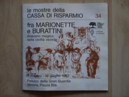 LE MOSTRE DELLA CASSA DI RISPARMIO Tra Marionette E Burattini - Livres, BD, Revues