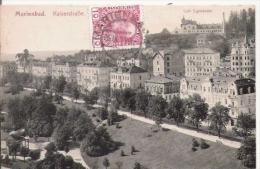 MARIENBAD (MARIANSKE LAZNE TCHEQUIE) 1088  KAISERSTRASSE  CAFE EGERLANDER    1911 - Tchéquie