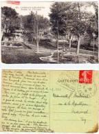 LAMALOU LES BAINS - Jardin De L' Esclade - Rare Cachet Daguin  (65725) - Lamalou Les Bains