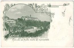 GENOVA - Convento Del Monte Veduto Da Mezzogiorno - Genova