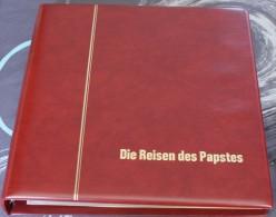 Très Bel Album Krüger Vide Pour Classer Les Cartes Enveloppe Fdc Du Voyage Des Papes - Matériel