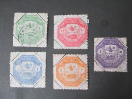 Türkei 1898 Besetzungsaugabe Für Thessalien A85-E85 Gebraucht / Gestempelt - 1837-1914 Smyrna
