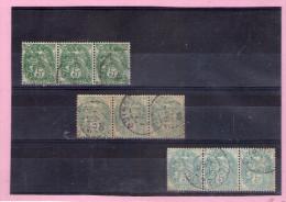 1900 - BLANC  Mi No 89 Et Yv 110  Nuances - 1900-29 Blanc