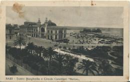 """BARI - Teatro Margherita E Circolo Canottieri """" Barion"""" - FP - NUOVA - - Bari"""