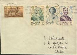 1996 LETTERA FILATELICA MALLORCA X ROMA - 1991-00 Cartas