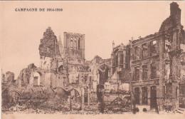 Carte Postale Ancienne - Campagne De 1914-16 - Ypres - L'hôtel De Ville - Guerra 1914-18