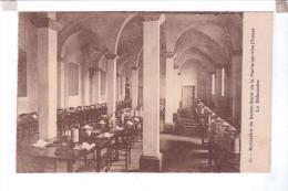 89 Monastere De Sainte Marie De La Pierre Qui Vire Le Refectoire - France